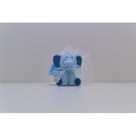 Grand éléphant bleu