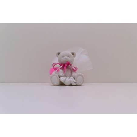 Grand ours blanc avec  bébé