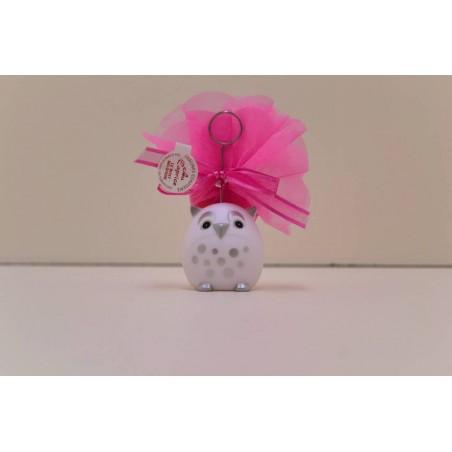 Hibou blanc clip