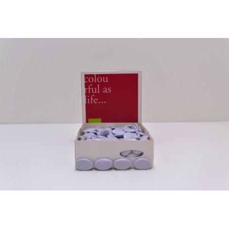Dragées chocolat lilas 1KG