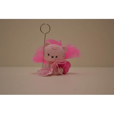 Petit chat rose clip