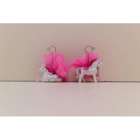 Licorne clip assorti