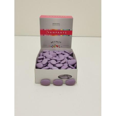 Dragées lilas chocolat 1KG