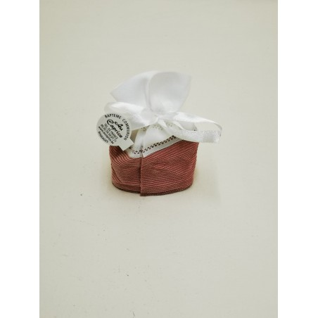 Pochon velour rose