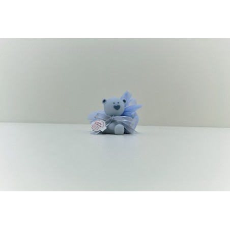 Ours lumineux bleu