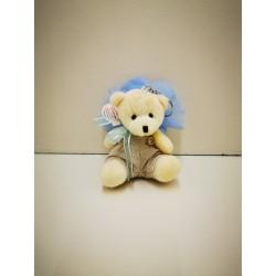 ours beige porte clef garçon