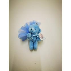 ours bleu porte clef